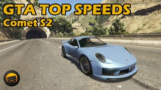 Fastest Tuners (Comet S2) - GTA 5 Best Fully Upgraded Cars Top Speed Countdown
