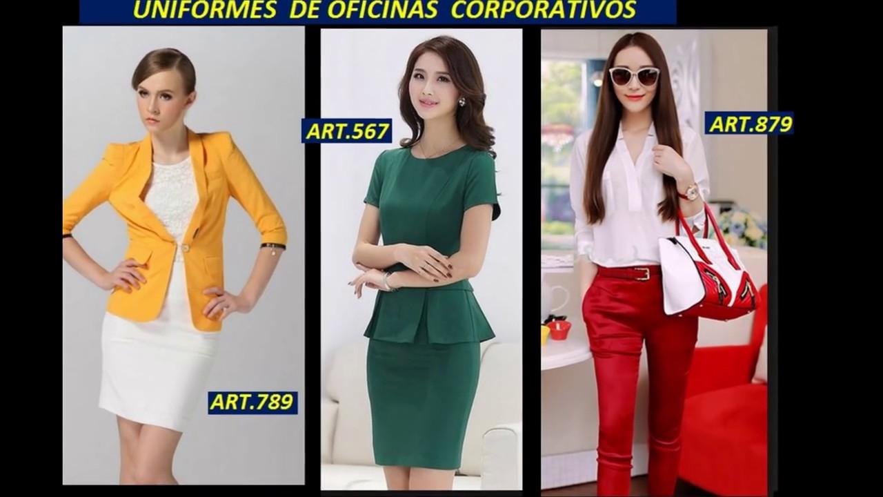 Uniformes de damas para oficinas 2018 uniformes de for Modelos de oficinas modernas