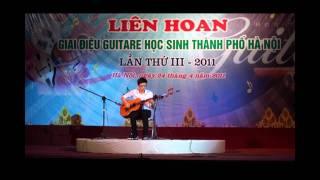 Lien Hoan Guitar Hoc sinh Hanoi III - Chung khao, Bang D (Etude 52 & Acome Amour by Tan Hung)