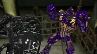 Real steel-Noisy boy vs Zeus
