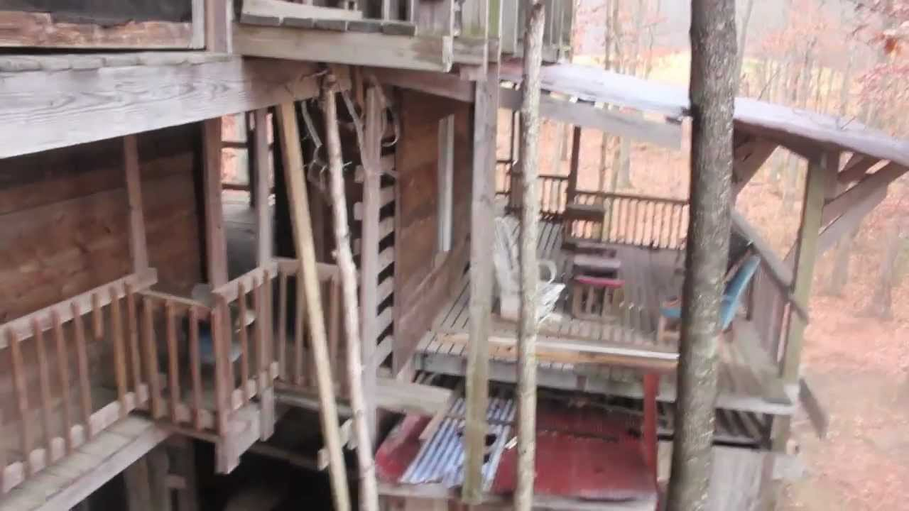 Worlds Largest Treehouse Abandoned The Ministers Chapel Youtube