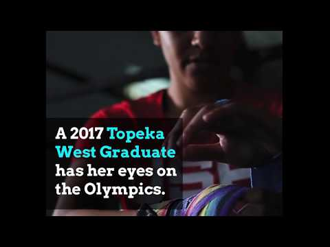 Topeka Public School Student Training for Olympics