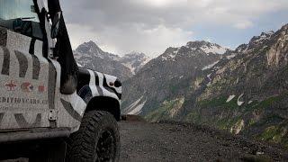Land rover Defender expedition central Asia 2015 (part 1, Kazakhstan, Uzbekistan)