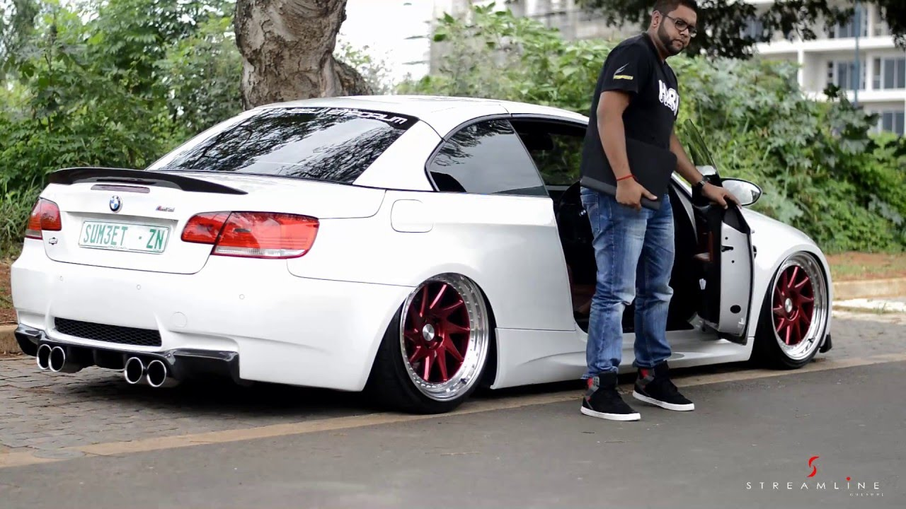 sumeets bagged bmw m3 e93 youtube. Black Bedroom Furniture Sets. Home Design Ideas
