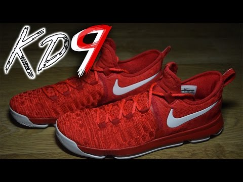 NIKE KD 9 UNIVERSITY RED PERFORMANCE REVIEW!