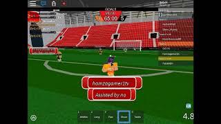 Jogando (Ro Evolution Soccer) No roblox