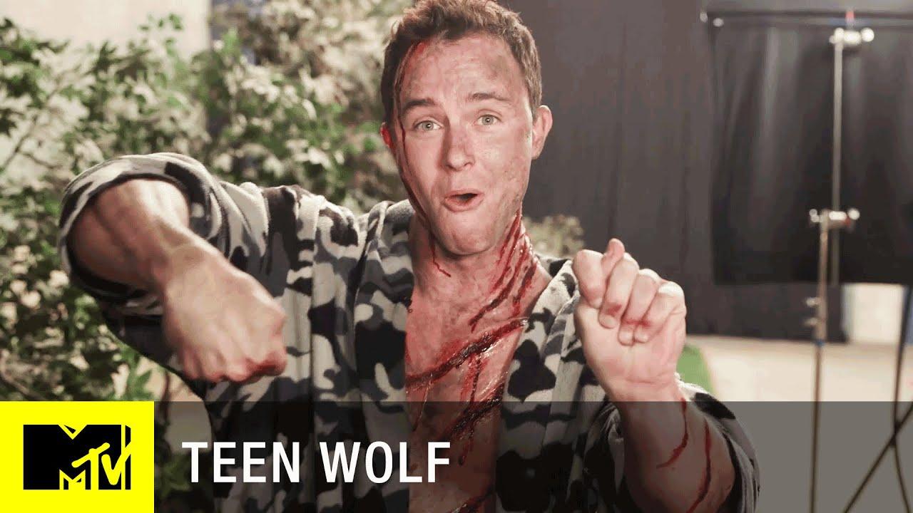 Teen Wolf Sæson 5 De Cast viser off deres magi-5715