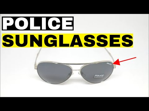 Cool Sunglasses For Men - Police - Unboxing!