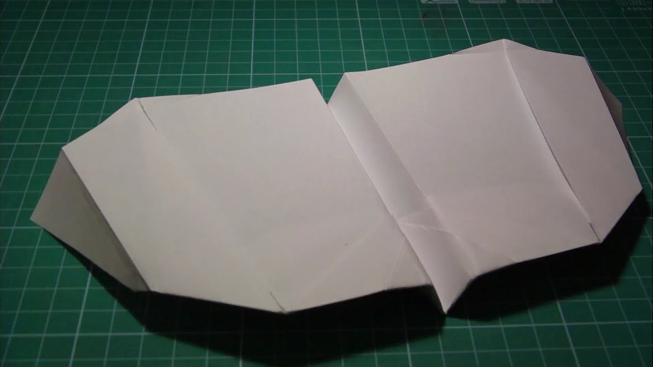 Tutorial Paper Airplane Flapping Wings John Collins