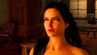 Ведьмак 3 секс Йенифер с Геральтом в Каэр Морхене