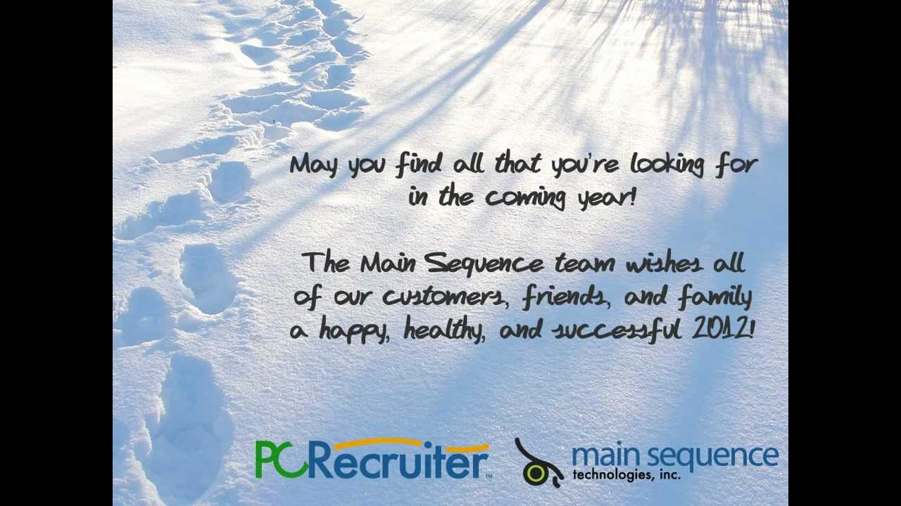 Seasons Greetings From Mst 2011 The Job Search 2011 Youtube