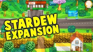 Stardew Valley EXPANSION Mod! New Locations and Characters - Diner, Gas Station, and a WINERY! thumbnail