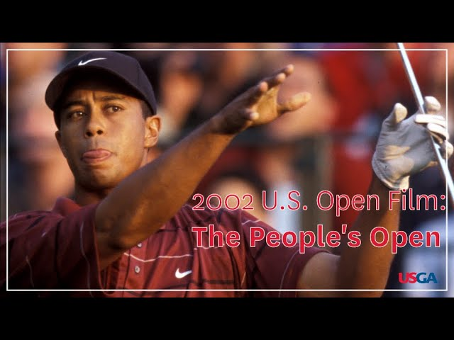 2002 U.S. Open Film: Tiger Tames Bethpage Black  - Buy American