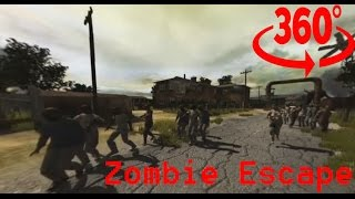360° Zombie Escape episode 1 #360video