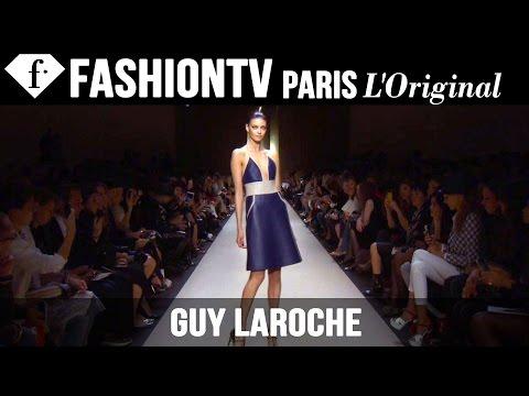 Guy Laroche Spring/Summer 2015 Runway Show | Paris Fashion Week PFW | FashionTV