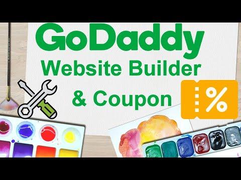 Godaddy Website Builder Tutorial 2018