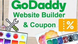 Godaddy Website Builder Tutorial 2018