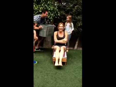 Sasha Alexander Ice Bucket Challenge