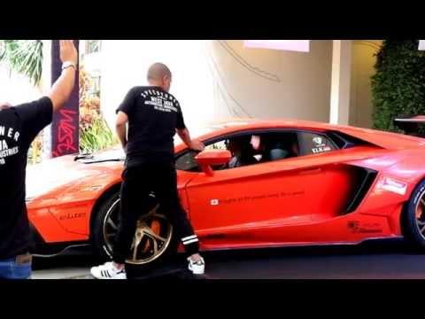 LIBERTY WALK Edition Lamborghini Aventador From Bandung INDONESIA