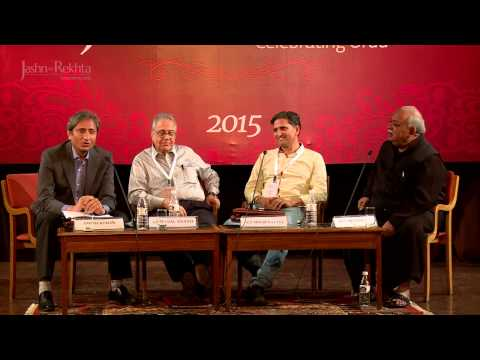 Ravish Kumar & Munawwar Rana On The Changing Face of Mushaira I Jashn-e-Rekhta 2015