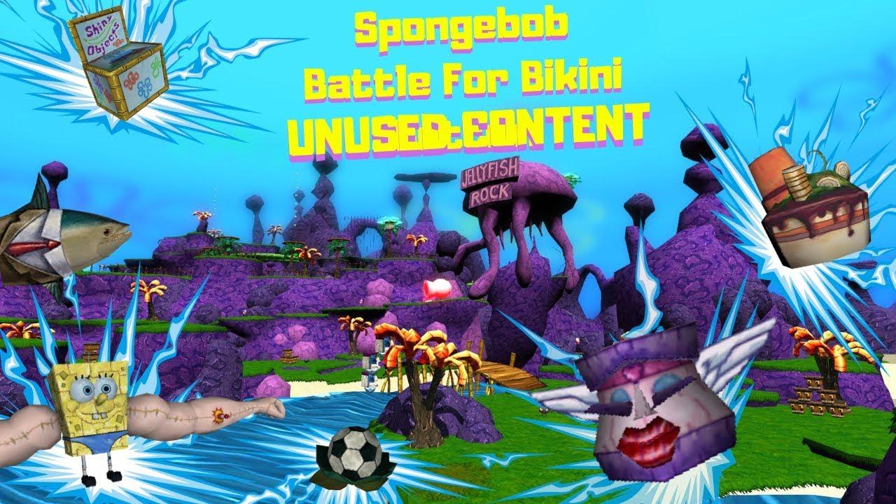 Spongebob Battle For Bikini Bottom Unused Content From Beta