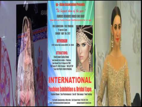 INTERNATIONAL FASHION EXHIBITION & BRIDAL SHOW  MAY 7TH, WYNDHAM HOTEL, ANAHEIM, CA