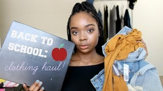 HUGE Back To School Clothing Haul 2016 | Try On!