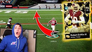 *GOLDEN TICKET* RG3 the BEST card EVER... - Madden 20 Ultimate Team