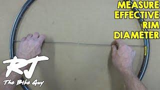 Measure Effective Rim Diameter (ERD) With Homemade Tools
