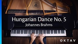 Johannes Brahms - Hungarian Dance No. 5 (Piano)