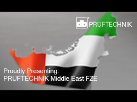Proudly Presenting PRUFTECHNIK Middle East