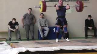 Клещёв Дмитрий  Толчок 155 кг.  1 подход