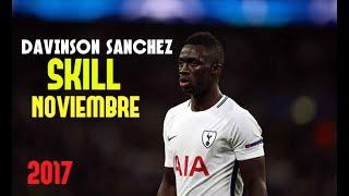 Davinson Sanchez 2017-18 ● Skills Defensive Noviembre ● Tottenham Spurs || HD