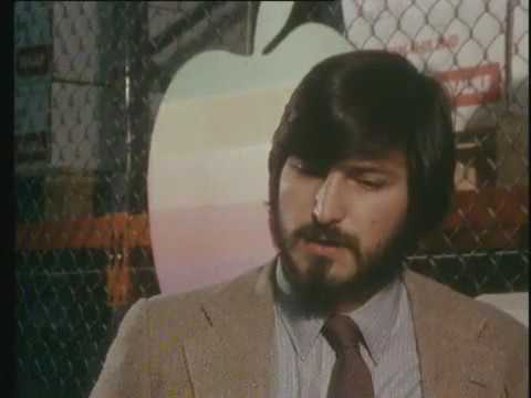 Rare interview of Steve Jobs concerning Apple in Cork (1980)