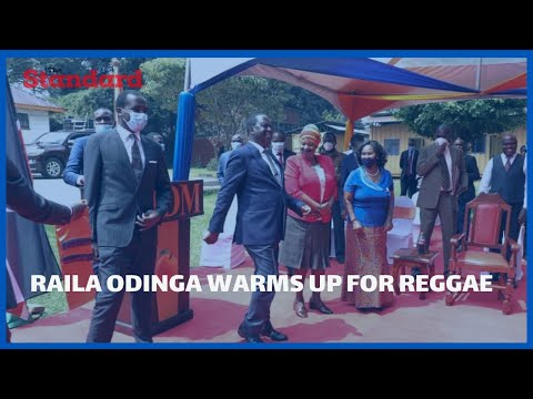 REGGAE RETURNS: Raila Odinga warms up for reggae, says BBI is on a short break