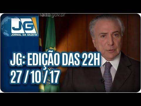 Jornal da Gazeta - Edição das 10 - 27/10/2017