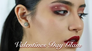2017 - Girly Valentines Day Makeup + Outfit   Julissa Chapa