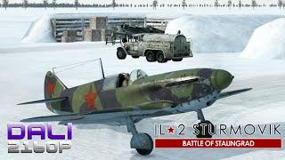 IL-2 Sturmovik: Battle of Stalingrad La-5 PC 4K Gameplay 2160p