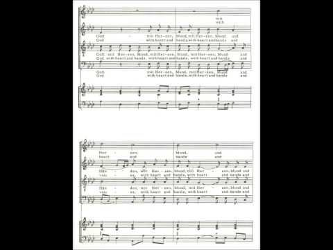 Nun Danket Alle Gott - Choir and Organ
