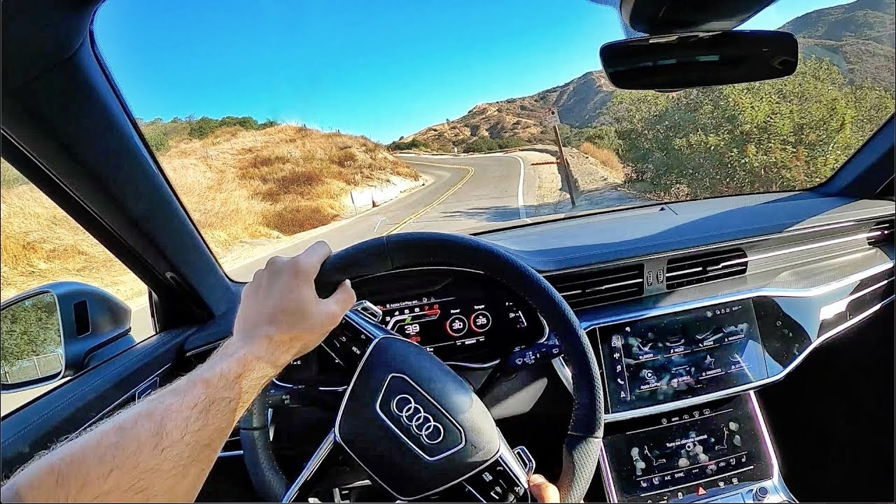 2021 Audi RS6 Avant POV Canyon Drive (3D Audio)(ASMR ...