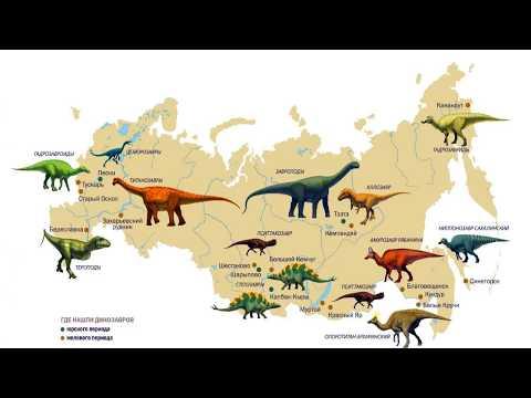 Динозавры России (рассказывает палеонтолог Ярослав Попов)