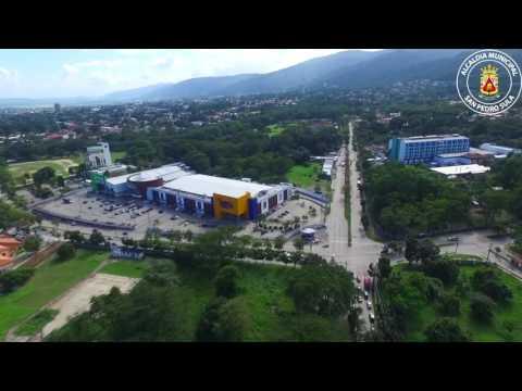 ORGULLO SAMPEDRANO: Imágenes de San Pedro Sula vistas desde un dron