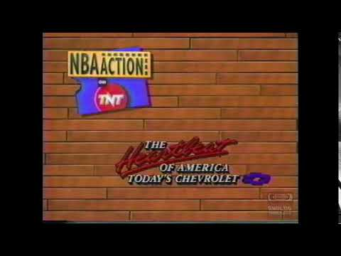 NBA Action On TNT Is Brought to you by Dutch Boy | Television Commercial | 1991