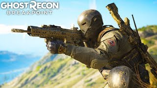 Ghost Recon Breakpoint MK17 ASSAULT IS A RECOIL GOD! Ghost Recon Breakpoint Free Roam - Part 68