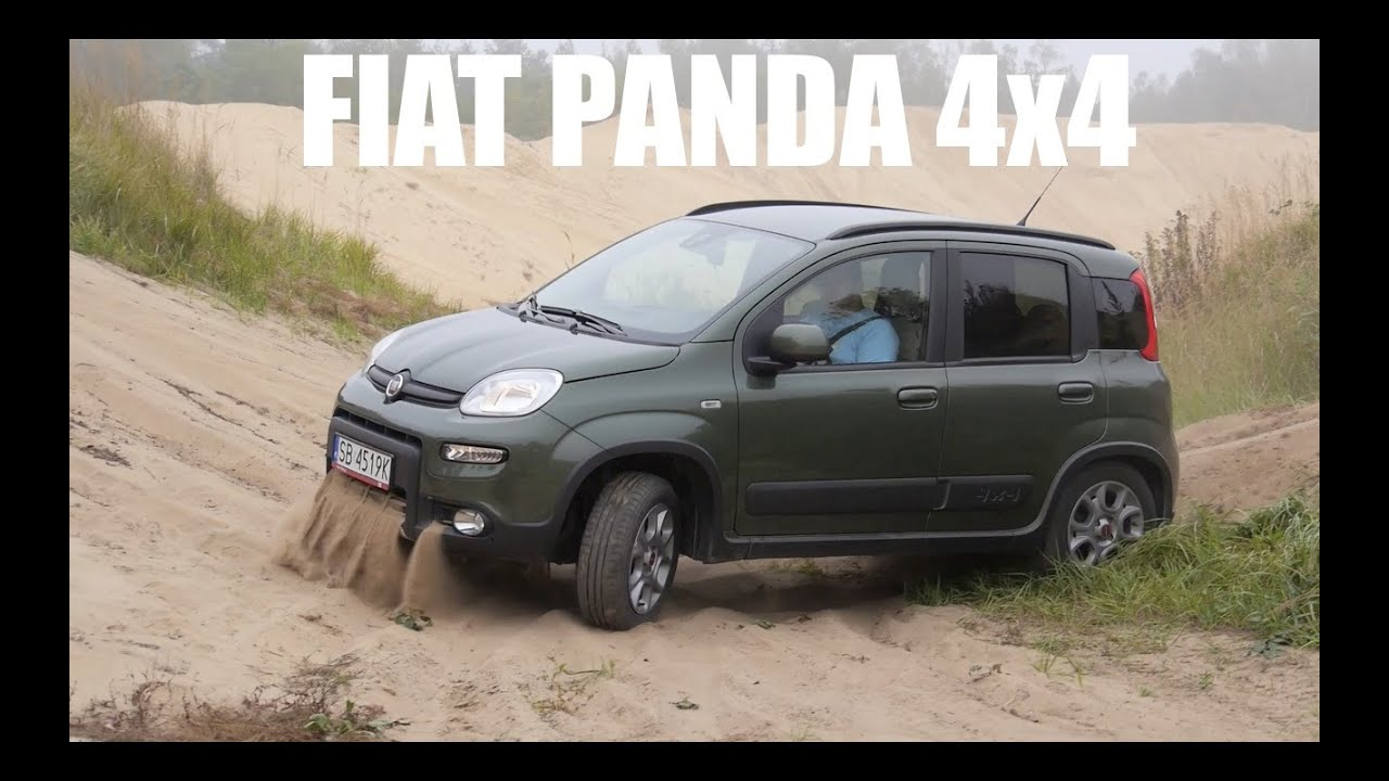 pl fiat panda 4x4 test i jazda pr bna youtube. Black Bedroom Furniture Sets. Home Design Ideas