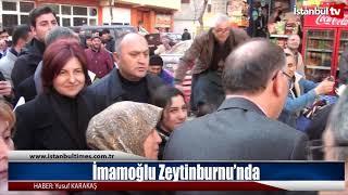 İmamoğlu Zeytinburnu'nda