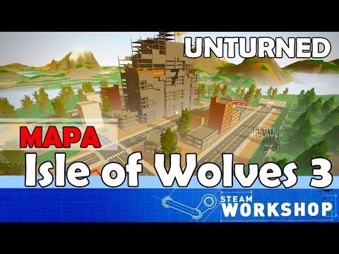 Unturned MAPA: Isle of Wolves 3 (Mapa Grande)