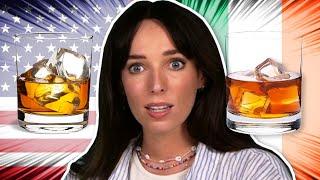 Irish People Try Ameŗican Bourbon Vs Irish Whiskey