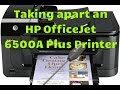 Taking apart HP Officejet 6500A Plus Printer