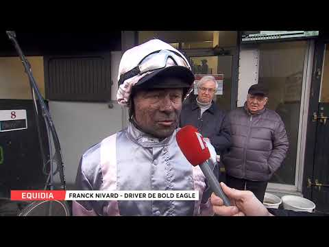 Franck NIvard - Bold Eagle (3e) - Grand Prix de France - Vincennes - 10/02/2019